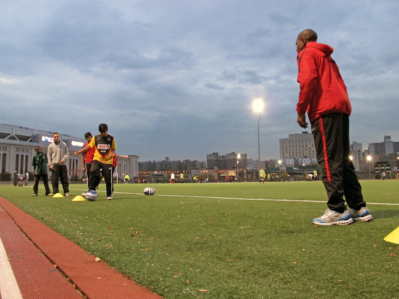 Youth soccer league teaches life lessons