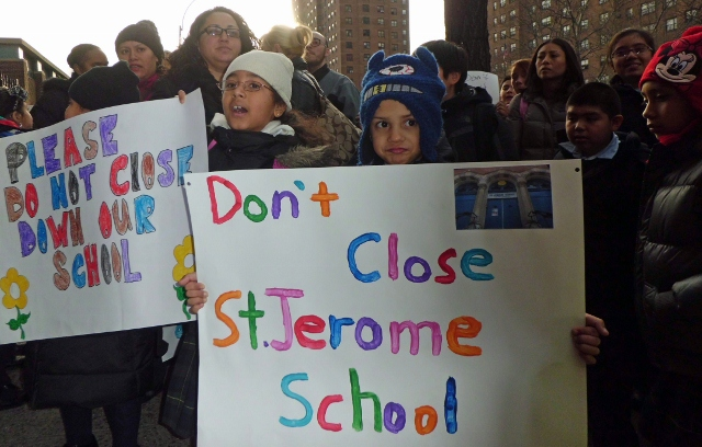 St. Jerome's faced with closure