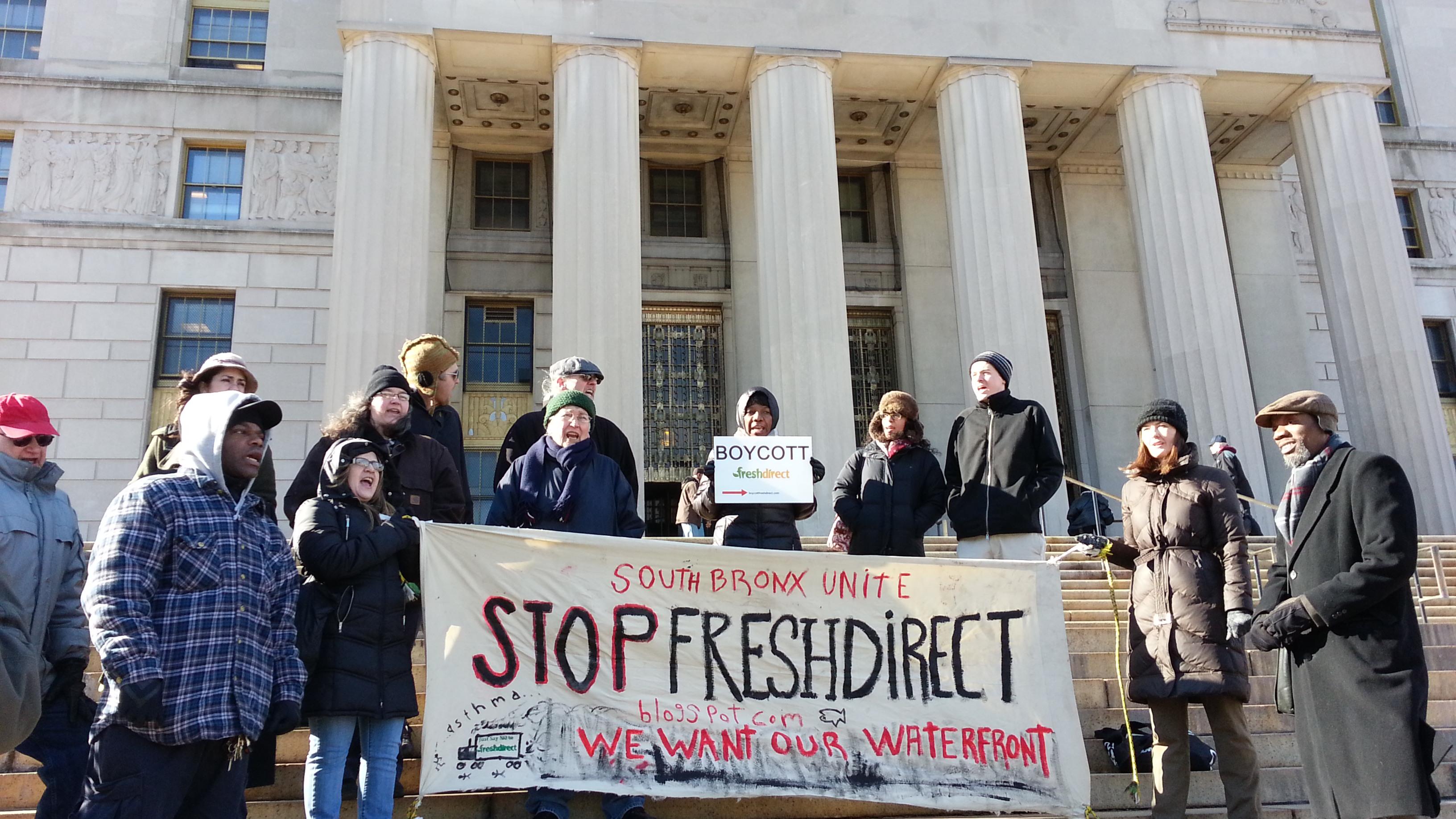 Court hears case against FreshDirect