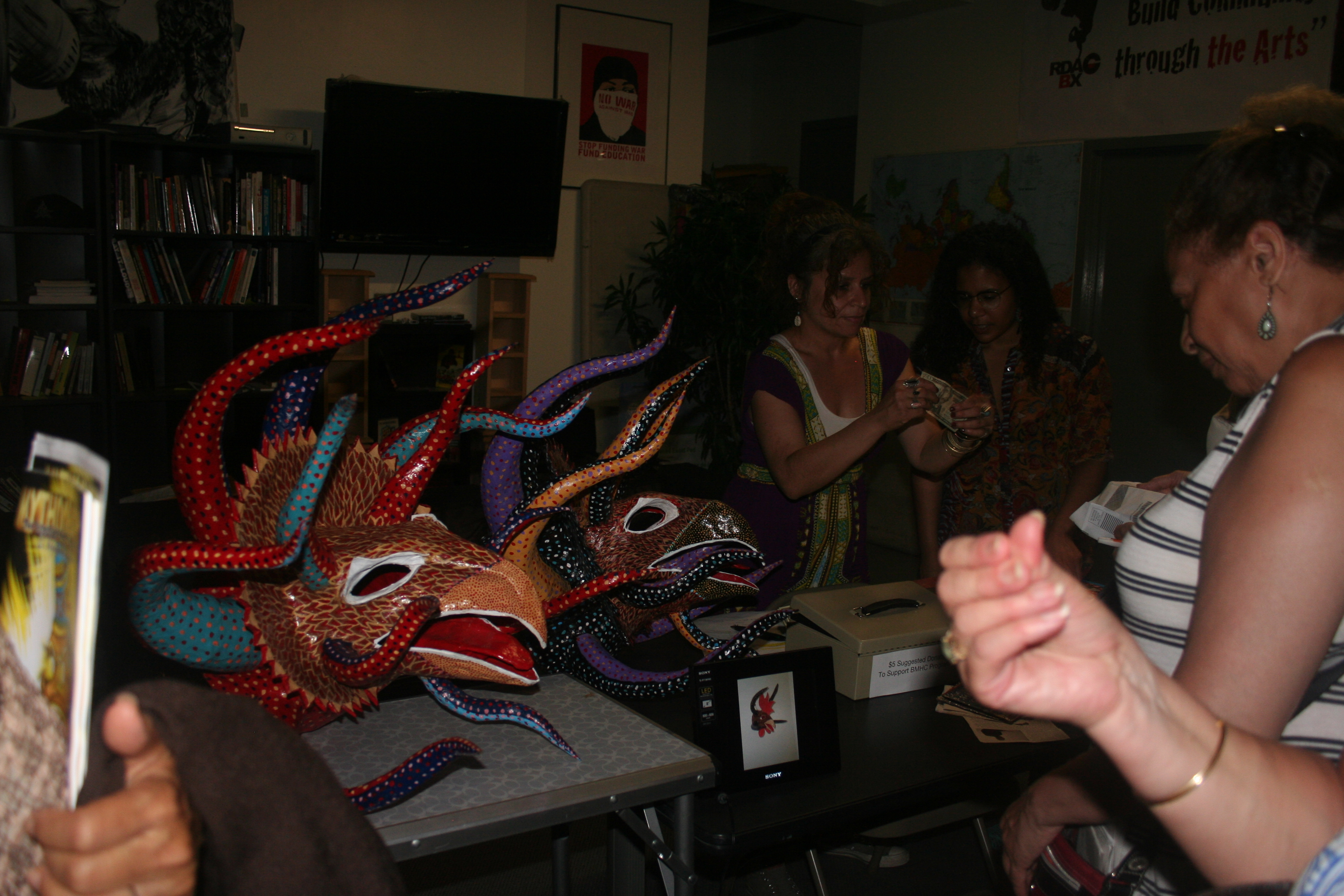 Masks reveal Puerto Rican history