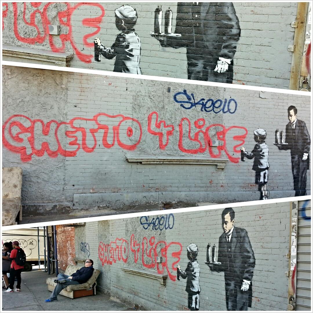 'Ghetto for Life' mural ignites debate