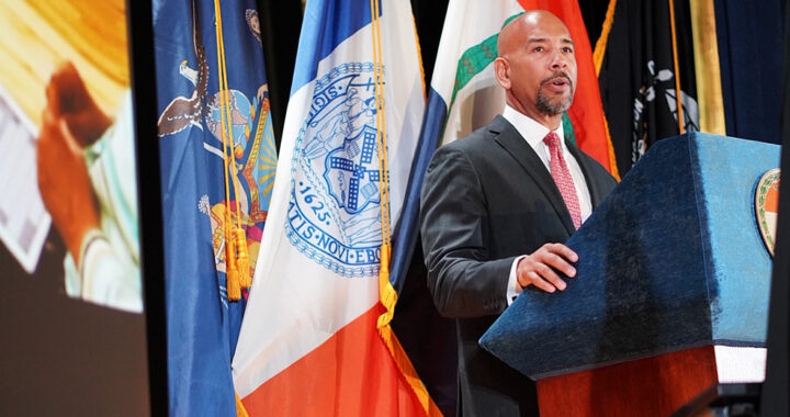 Outgoing Borough President Diaz holds his last State of the Borough