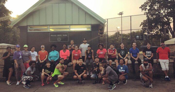 Running groups make a quarantine comeback