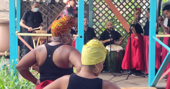 La Finca del Sur plays host to the stage rumba series