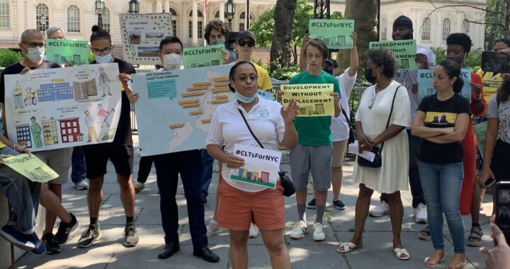 New Yorkers urge Council to fund community land trusts